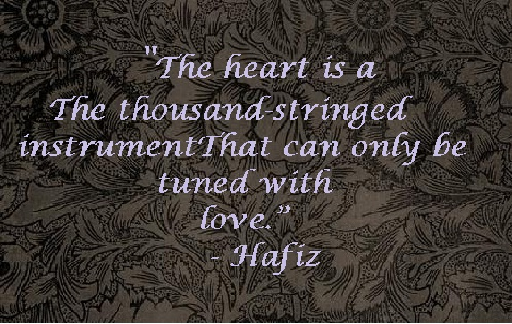 Filosofische Citaten Over Liefde : Hafiz hafez quotes the bohemian blank